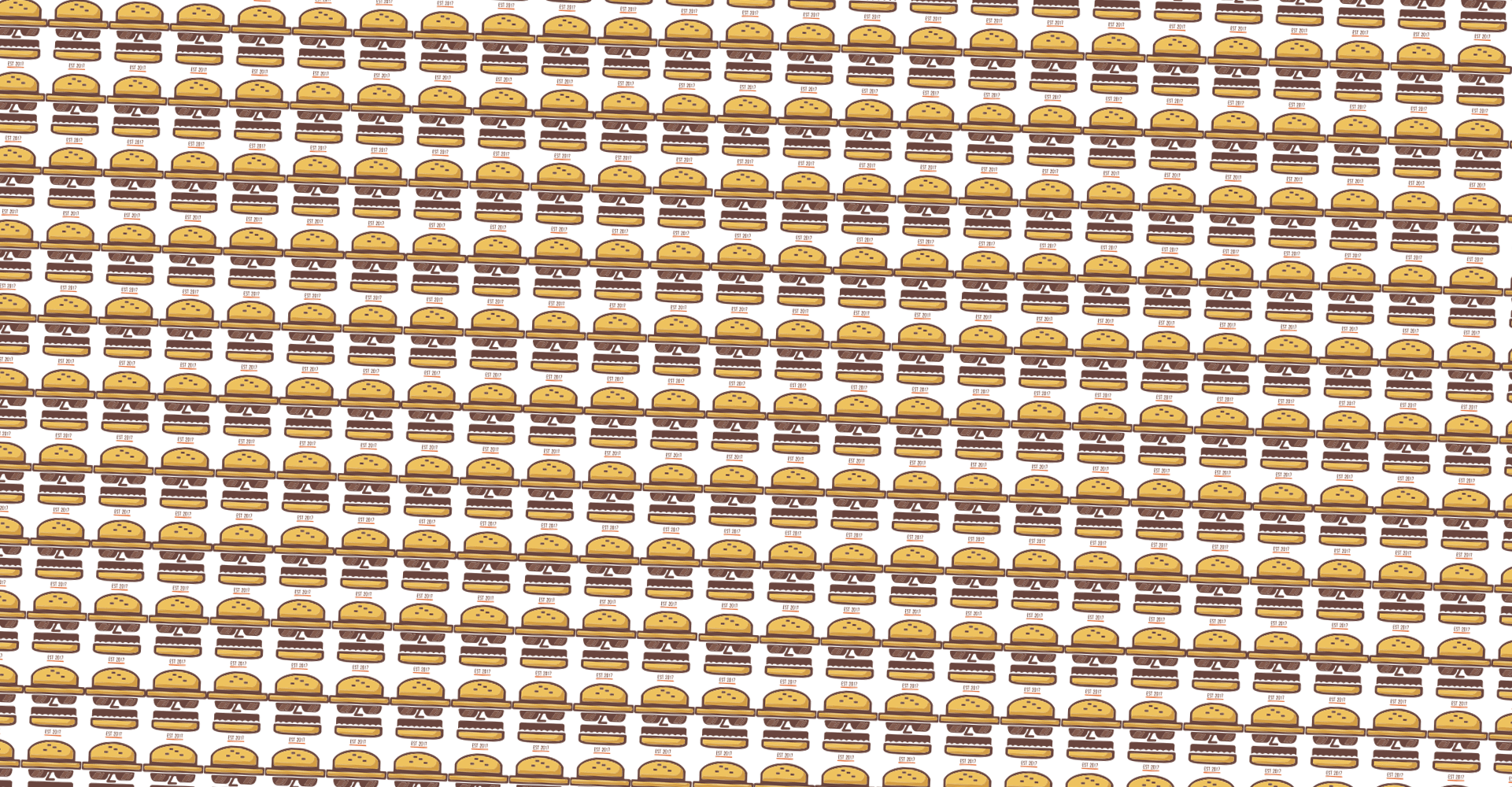 small-repeated-hamburger-background